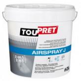 Enduit de finition et de collage de bandes à joints TOUPRET Bâtiment Airspray J 25kg