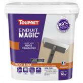 Enduit Magic'murs dégradés pâte TOUPRET gamme hautes performances 12kg