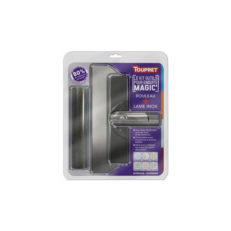 Outils Magic' TOUPRET gamme hautes performances (rouleau + lame inox)