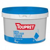 Enduit pour lisser pâte TOUPRET gamme Basique & Chantiers 4kg
