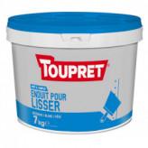 Enduit pour lisser pâte TOUPRET gamme Basique & Chantiers 7kg