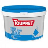 Enduit pour lisser pâte TOUPRET gamme Basique & Chantiers 15kg