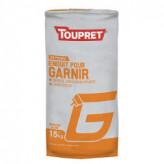 Enduit pour garnir G poudre TOUPRET gamme Basique & Chantiers 15kg