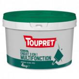 Enduit 3en1 multifonction pâte TOUPRET gamme Basique & Chantiers 4kg