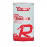 Enduit pour reboucher R poudre TOUPRET gamme Basique & Chantiers 15kg