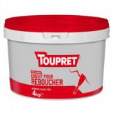 Enduit pour reboucher pâte TOUPRET gamme Basique & Chantiers 4kg