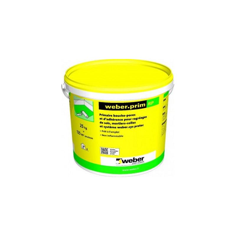Primaire WEBER Weberprim RP bouche-pores pour sols neufs ou poreux 25kg