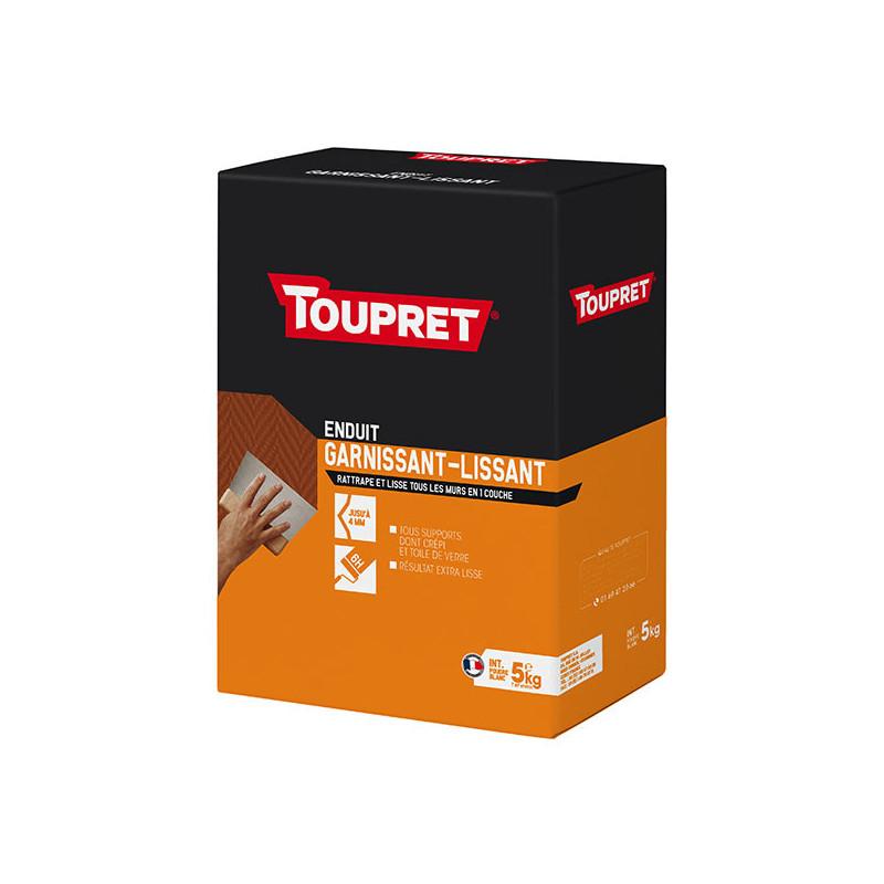 Enduit 2 en 1 garnissant et lissant poudre TOUPRET gamme hautes performances 5kg